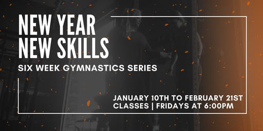 RBV NEW YEAR NEW SKILLS  SIX WEEK GYMNASTICS SERIES