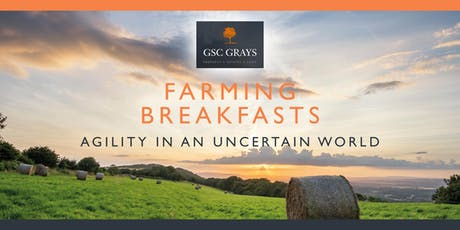 The GSC Grays Farming Breakfasts tickets