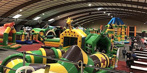 MEGA Jungle Jump Oktoberhallen Kerst