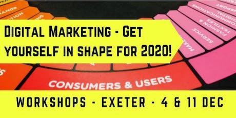 Digital Marketing - Get yourself in shape for 2020 - DDC, Exeter, Devon tickets
