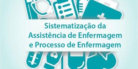 Sistematização da Assistência & Processo de Enfermagem: NANDA, NOC e NIC ingressos