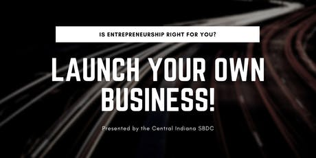 Launch Your Own Business tickets