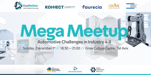 EcoMotion Mega Meetup - Automotive Challenges in Industry 4.0