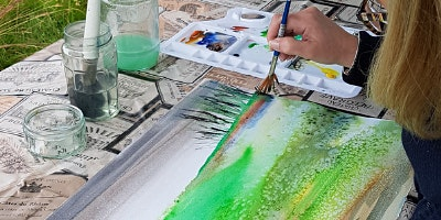 Watercolour Painting with Sarah Watson