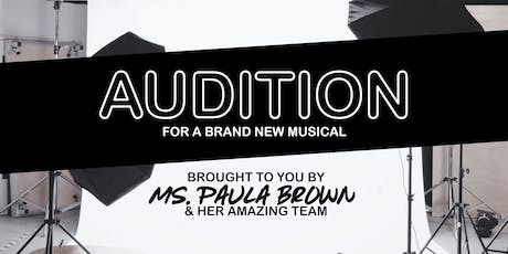 Audition for A Brand New Musical! tickets