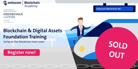 Blockchain and Digital Assets – Foundation Training billets