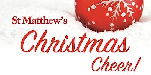 Christmas Cheer! at St Matthew's Church, Northampton