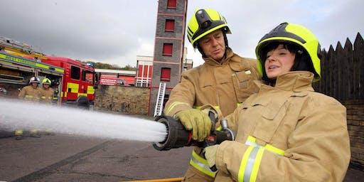 Meet a Firefighter - Ryburn Careers Week