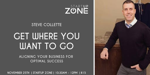 Get Where You Want to Go: Workshop with Steve Collette