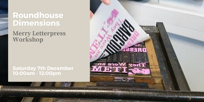 Merry Letter Press Workshop