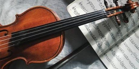 William Walton - Evolution of his voice through the violin tickets