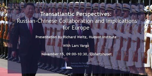 Russian-Chinese Collaboration and Implications for Europe
