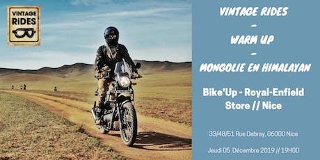 Warm up Nice -  Bike'Up - Royal Enfield Store: Mongolie X Vintage Rides billets