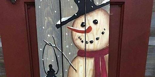Snowman Porch Sign Workshop
