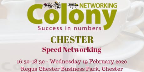 Colony Speed Networking (Chester) - 19 Feb 2020 tickets