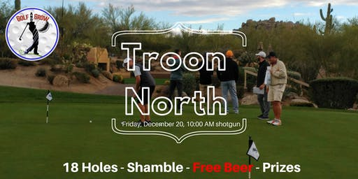 ⛳ Troon North 18-hole tournament