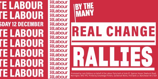 Real Change Rally:  Altrincham and Sale West