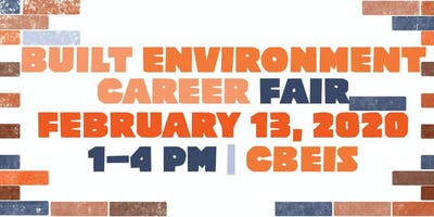 2020 Built Environment Career Fair (Employer Registration)