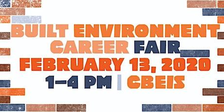 2020 Built Environment Career Fair (Employer Registration) tickets