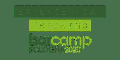 Experiential Training BarCamp 2020 - Connectance biglietti