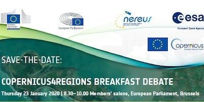 Copernicus4Regions Breakfast Debate