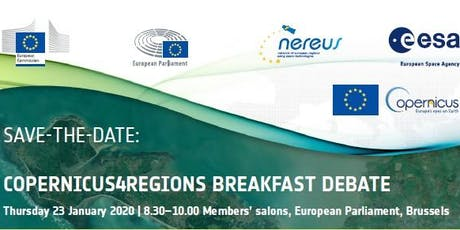 Copernicus4Regions Breakfast Debate tickets