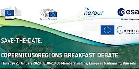 Copernicus4Regions Breakfast Debate tickets