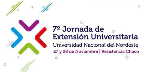 7° Jornada de Extensión Universitaria - UNNE entradas