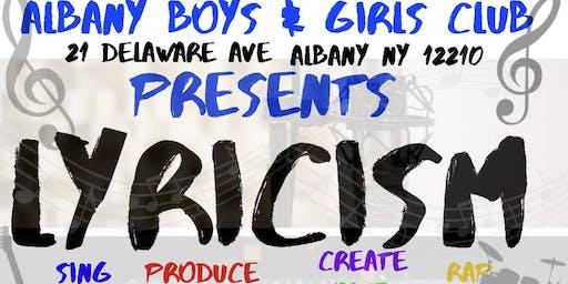 "Albany Boys & Girls Club Presents: ""Lyricism"""