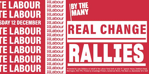 Real Change Rally: Blackpool North and Cleveleys