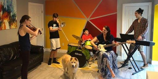 Music program kickoff party