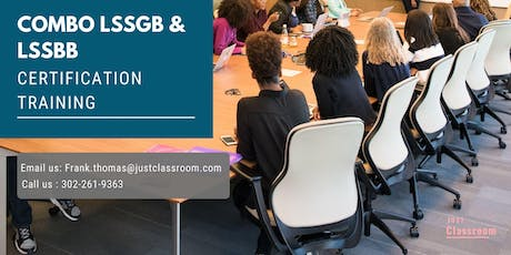 Dual LSSGB & LSSBB 4Days Classroom Training in Jamestown, NY tickets