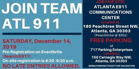 ATL 911 Communications Dispatcher Career Fair tickets