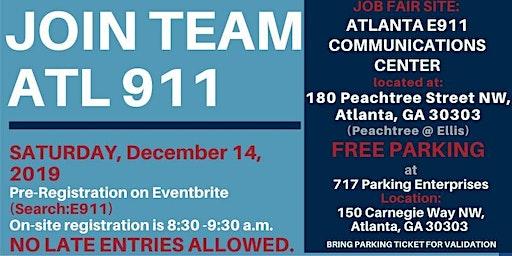 ATL 911 Communications Dispatcher Career Fair