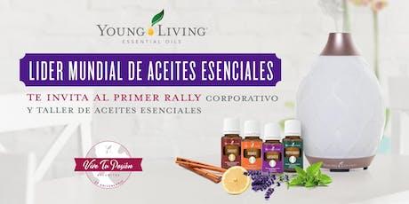 Bucaramanga Young Living  Taller de Aceites Esenciales entradas