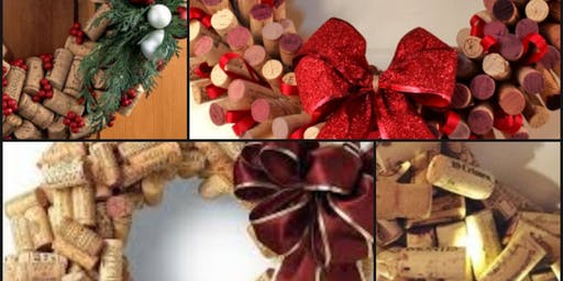 Cork Wreaths & Wine Tasting At Carpenter's Creek Cellars