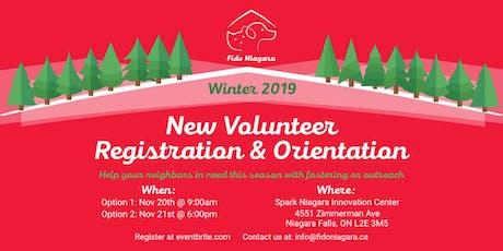 FidoNiagara New Volunteer Registration and Orientation - Session 2 tickets