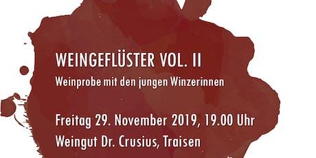Weingeflüster VOL. II Tickets