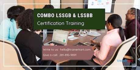 Combo Lean Six Sigma Green Belt & Black Belt 4 Days Classroom Training in West Nipissing, ON tickets
