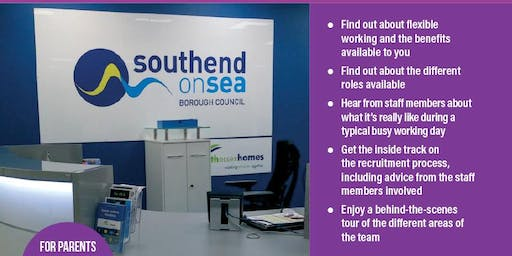 A Better Start Work Skills - Industry Visit -  Careers at Southend-on-Sea Borough Council