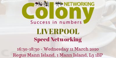 Colony Speed Networking (Liverpool) - 11 March 2020