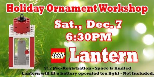 LEGO® Lantern Ornament Workshop