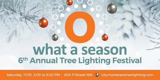 6th Annual Tree Lighting at City Market at O