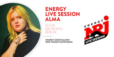 ENERGY LIVE SESSION | ALMA Tickets