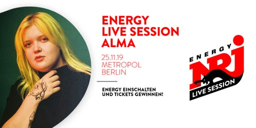 ENERGY LIVE SESSION | ALMA