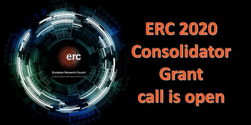 ERC Consolidator grants 2020: Information Event
