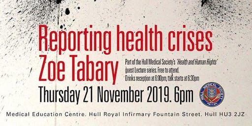 Reporting health crises