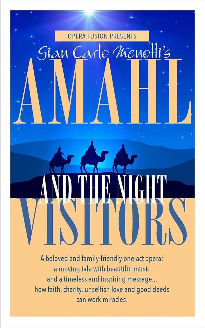 Opera Fusion Amahl & The Night Visitors: Great Music at St. Gregory's image