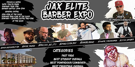 Barber Battle - Jacksonville Elite Barber Expo tickets