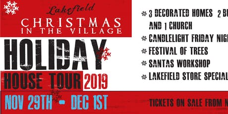 Holiday House Tour & Festival of Trees VIP Tour tickets